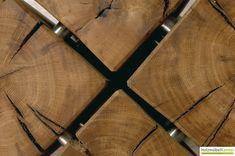 Www.holzmoebelkontor.de: Couchtisch Cube. Holzblock Tisch Aus 4 Massive  Holzblöcken. Bestechende Optik Auf Rollen.