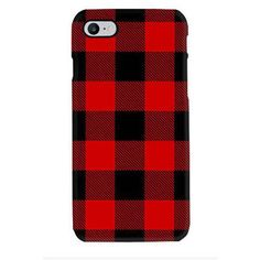 Buffalo Check Plaid Phone Case iPhone7/7 Plus/6/6S/6 Plus/5/5S/5C/4/4S... ($25) ❤ liked on Polyvore featuring accessories, tech accessories and samsung