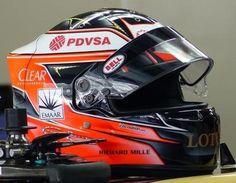 Esteban Ocon 2014 Abu Dhabi FP1 Helmet