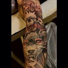 Done by Johan Finné, tattoo artist at Evil Twins Heavenly Tattoo Studio (Helsingborg), Sweden TattooStage.com - Rate & review your tattoo artist. #tattoo #tattoos #ink #TopRatedTattooist