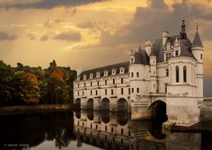 Chateau de Chenonceaux, Loire Valley. This place is gorgeous, i will go back one day!