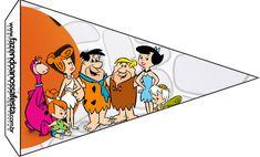 Bandeirinha Varalzinho Os Flintstones: