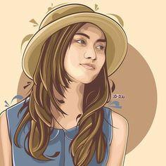 Melody Laksani #bestvector #vectorart #vector_id #vexel #vector #sketch #drawing #digitalart #art #artwork #melodyjkt48 #jkt48 #48 #48_art