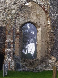 Abbey Ruins in Suffolk