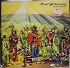 Find a Baker Gurvitz Army - Elysian Encounter first pressing or reissue. Complete your Baker Gurvitz Army collection. Shop Vinyl and CDs. Rock Album Covers, Music Album Covers, Lps, Rock Bands, Thing 1, British Rock, 1975, Progressive Rock, Music Magazines