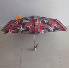 printed fabric Auto open and close umbrella