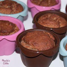 Briose low-carb cu vanilie / Low-carb vanilla muffins - Madeline's Cuisine