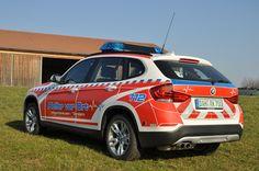 Neues First Responder Fahrzeug für die Helfer vor Ort in Hilgertshausen / Tandern aus Basis eines BMW X1.