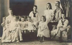 Archduchess Marie Valerie of Austria - Tuscany and her family