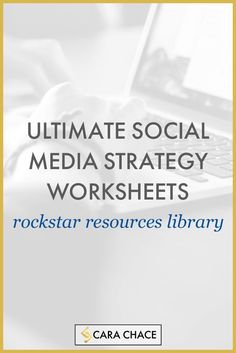 Everything you need as a solopreneur to get on top of your social media marketing and strategy. http://www.carachace.com/rockstar-resources/ Over the past year, I have put together a whole bunch of useful resources, freebies, checklist, and so on, to help my peeps get on top of their social media game. http://www.carachace.com/rockstar-resources/