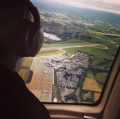 View of #Leeds #LeedsBradfordAirport Leeds, Airplane View