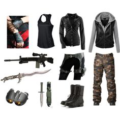 Zombie apocalypse outfit #2