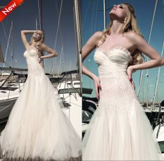 2014 New Autumn Wedding Dresses Ball Gown Beading Sweetheart Sexy Wedding dress High quality Famous Designer Free shipping