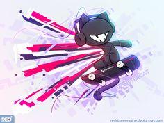 [Ipad Art] - Monstercat - Bad Boy by redstoneengine on DeviantArt