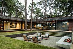 Award-winning (American Society of Landscape Architects) landscape :: Cedar Creek, Trinidad, Texas