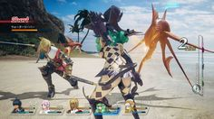 Gameplay — Star Ocean: Integrity and Faithlessness
