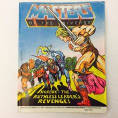 HORDAK RUTHLESS LEADERS REVENGE Mini Comic He-Man Masters of the Universe MOTU