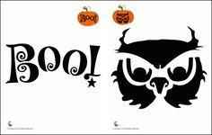 My Owl Barn: Free Halloween Pumpkin Carving Owl Templates