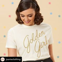 Who is your golden girl? 👸🏼👸🏻👸🏽👸🏾👸🏿 Black Hair Bows, Superstar, T Shirts For Women, Tees, How To Wear, Instagram, Fashion, Moda, T Shirts