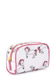 Forever 21 is the authority on fashion & the go-to retailer for the latest trends, styles & the hottest deals. Unicorn Art, Cute Unicorn, Sparkle Outfit, Unicorn Fashion, Makeup Case, Lip Makeup, Backpack Purse, Cute Bags, School Supplies