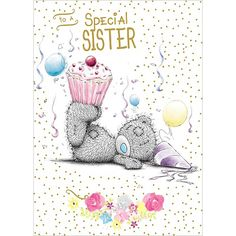 Special Sister Me to You Bear Birthday Card  £1.79