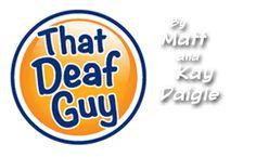 That Deaf Guy - Comics!