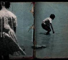 Jonsi and Alex (former of Sigur Ros) album artwork    blueskybutterflystudio.tumblr.com
