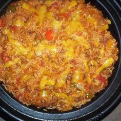 Oven Baked Spanish Rice on BigOven: A spicy rice dish that is started on top of the stove and cooked in the oven.