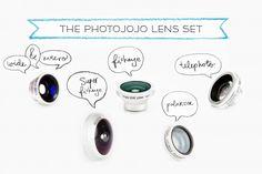 Photojojo's Magnetic Phone Lens Series - Photojojo