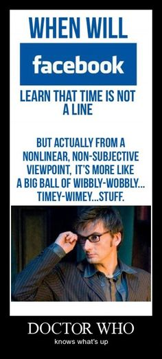 Doctor Who knows whats up