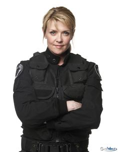 Amanda Tapping is Samantha Carter [Stargate SG-1] She is not only a scientist but a soldier as well. Sam's steady intelligence, humility and leadership qualities are missed in a TV landscape full of lovesick vampires. CLICK TO READ MORE