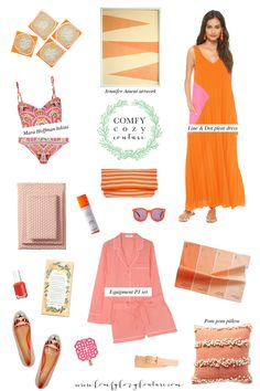 Comfy Cozy Couture: Wednesday Wish List | Coral Crush