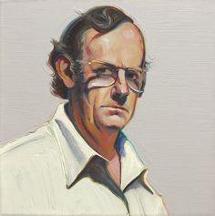 Wayne Thiebaud ~ Self-Portrait, 1973