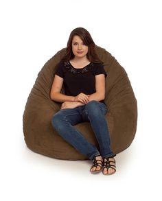 Our ultra suede bean bag chairs are full washable and come in 15 different colors. Large Bean Bag Chairs, Beach Chair With Canopy, Herman Miller Aeron Chair, Chairs For Small Spaces, Occasional Chairs, Color, Chocolate, Colour, Chocolates
