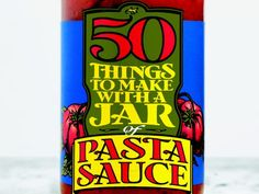 50 Things to Make With Pasta Sauce (foodnetwork) -- excellent! time to get creative with leftover pasta sauce Cooking Network, Food Network Recipes, Cooking Recipes, Cooking Food, Cooking Steak, Cooking Games, Cooking Ribs, Cooking Salmon, Cooking Classes