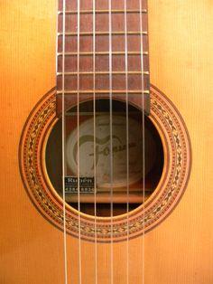 detalle - normal o cenital (para sacar esta foto, acosté la guitarra y la saqué desde arriba)