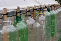 building with plastic bottles - Google Search