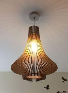 Porcelaine d'inspiration laser cut abat-jour en bois n par baraboda