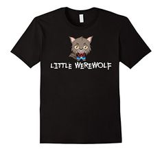 Little Werewolf Happy Trick or Treat Party Cute Kids Shirt
