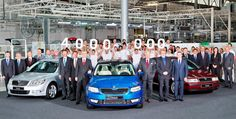 The 4 millionth #Skoda #Octavia has been produced making it the best selling Skoda ever