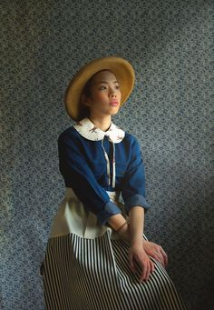 I am in love with Yokoo's new shop Mother. These aprons are lovely.