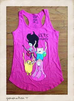 Adventure Time in hot pink!
