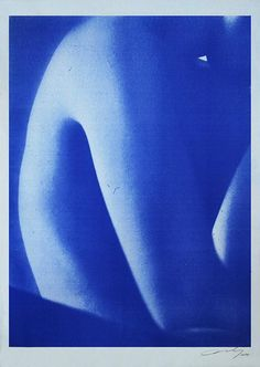 Poster by Daisuke Yokota The colors will fade over time (Diazo print) Foto Flash, Photographie Art Corps, Colores Ral, Cyanotype, Blue Aesthetic, Pretty Pictures, Wall Collage, Aesthetic Pictures, Aesthetic Wallpapers