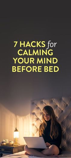 7 Hacks For Calming Your Mind Before Bed - gutaussehend Ayurveda, Trouble Falling Asleep, Falling Asleep Tips, Sleep Remedies, Insomnia Remedies, Before Sleep, Relax, How To Get Sleep, Things To Know