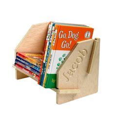 Ecolok Custom Name Desktop Bookshelf