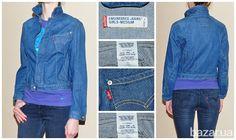 Женская куртка Levis Engineered (М). б/у - Женская одежда Киев на Bazar.ua