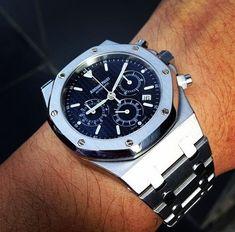 Audemars Piguet Royal Oak Chronograph #audemarspiguet #audemarspiguetroyaloak #majordor #luxurywatches #luxurywatchesformen