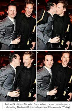 Andrew Scott & Benedict Cumberbatch