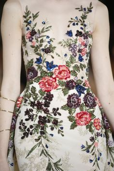 Georges Hobeika Haute Couture Autumn-Winter 2017-18 Details #GEORGESHOBEIKA #Themagicofandalusia #couture #autumnwinter #details