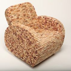 Working primarily in recycled and reclaimed materials I weave the mundane object such as street sweeper bristles and coffee stirrers. I make furniture from recycled wine corks, tin can lids and golf...